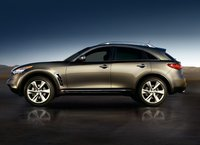 2010 Infiniti FX35, side view, exterior, manufacturer
