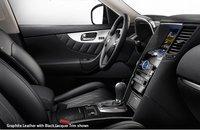 2010 Infiniti FX35, front seat area, interior, manufacturer