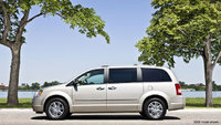 2010 Chrysler Town & Country, Left Side View, exterior, manufacturer