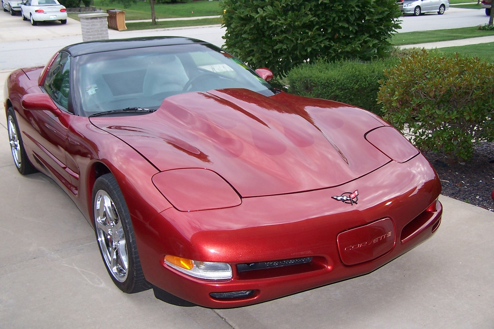 1997 Chevrolet Corvette Base, 1997 Chevrolet Corvette 2 Dr STD Hatchback picture, exterior