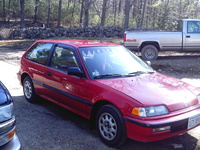 1991 Honda Civic DX Hatchback, 1991 Honda Civic 2 Dr DX Hatchback picture, exterior