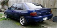 1993 Ford Laser Overview