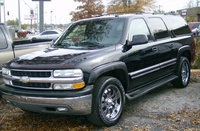 2002 Chevrolet Suburban Picture Gallery