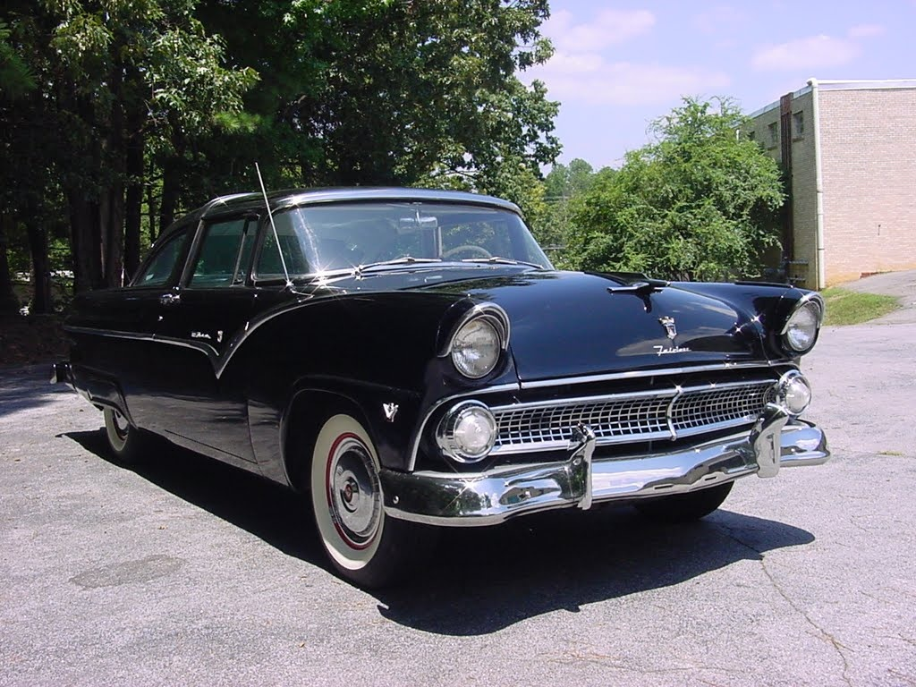 1955 ford crown victoria overview cargurus. Black Bedroom Furniture Sets. Home Design Ideas