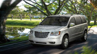 2010 Chrysler Town & Country, Front Left Quarter View, exterior, manufacturer