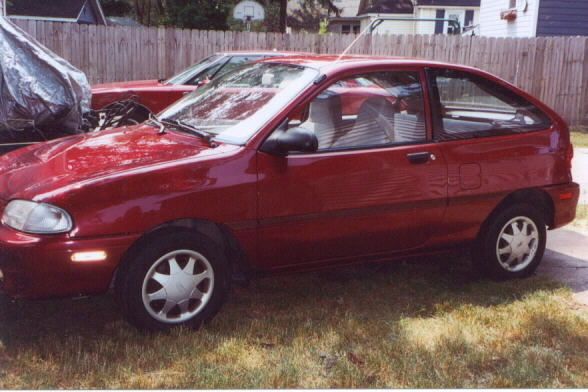 Picture of 1997 Ford Aspire 2 Dr STD Hatchback
