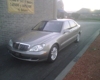 2003 Mercedes-Benz S-Class 4 Dr S430 Sedan, 2003 Mercedes-Benz S430 STD picture, exterior