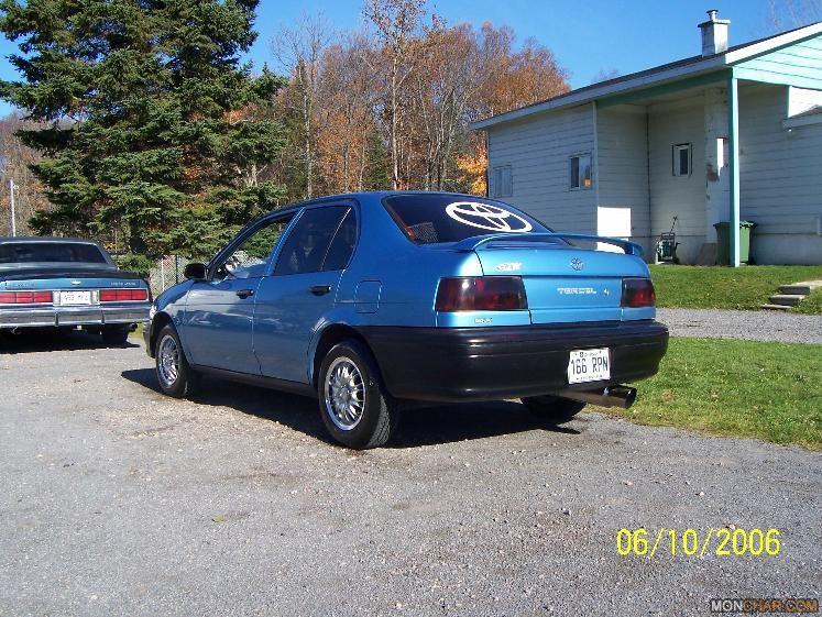 Toyota Tercel. 1991 Toyota Tercel 4 Dr DX