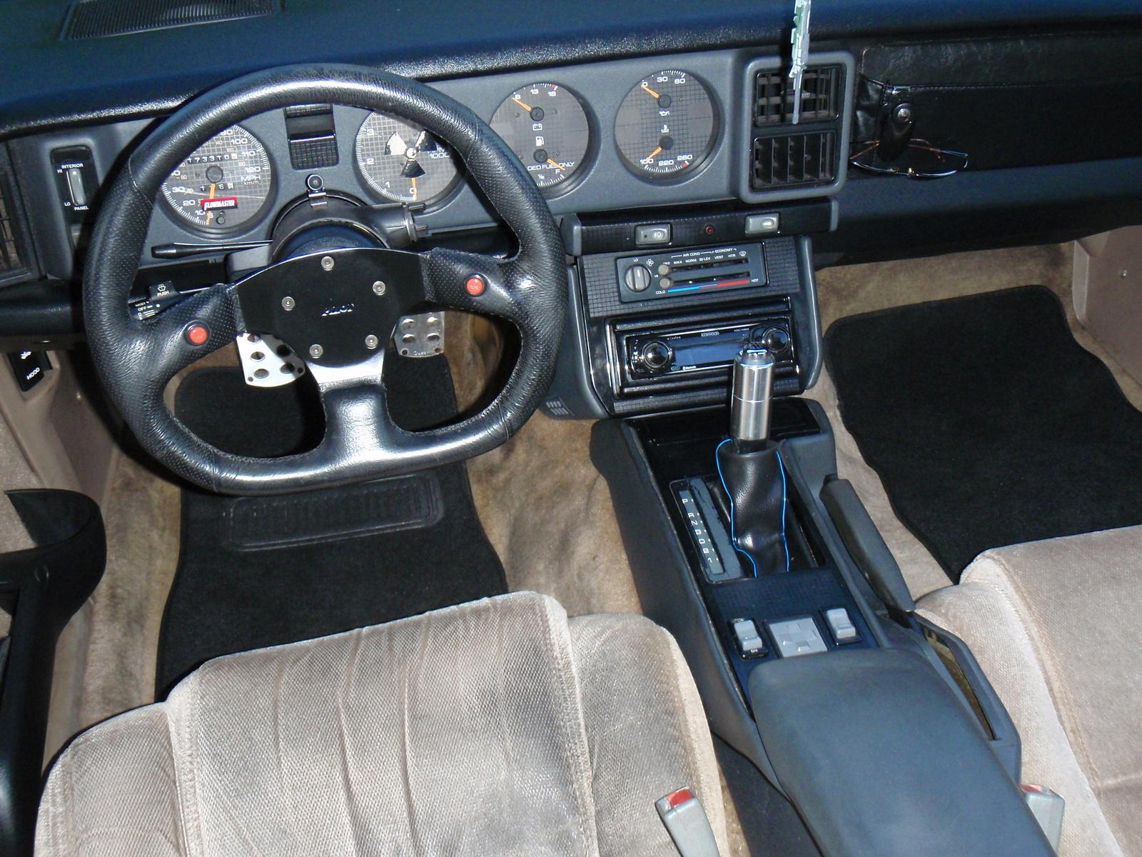 Picture Of 1992 Pontiac Firebird Base Interior