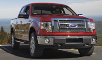 2010 Ford F-150, Front Right Quarter View, manufacturer, exterior