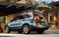 2010 Honda CR-V, Back Right Quarter View, interior, exterior, manufacturer