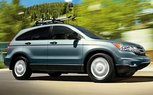 2010 Honda CR-V, Right Side View, exterior, manufacturer