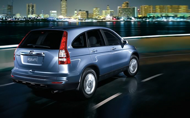 2010 Honda CR-V, Back Right Quarter View, exterior, manufacturer