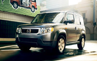 2010 Honda Element, Front Left Quarter View, exterior, manufacturer