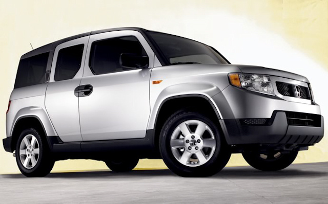 2010 Honda Element, Front Right Quarter View, exterior, manufacturer