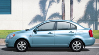 2010 Hyundai Accent, Left Side View, manufacturer, exterior