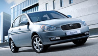 2010 Hyundai Accent, Front Right Quarter View, exterior, manufacturer