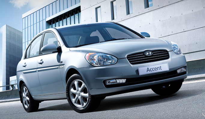 2010 Hyundai Accent, Front Right Quarter View, manufacturer, exterior