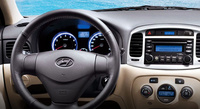 2010 Hyundai Accent, Interior View, manufacturer, interior