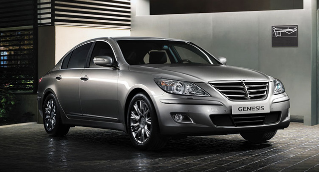 2010 Hyundai Genesis, Front Right Quarter View, exterior, manufacturer