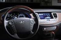 2010 Hyundai Genesis, Interior View, interior, manufacturer