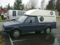 1989 Volkswagen Caddy picture, exterior