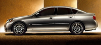 2010 Infiniti M45, Left Side View, manufacturer, exterior