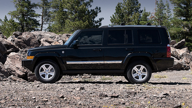 2010 Jeep Commander, Left Side View, manufacturer, exterior