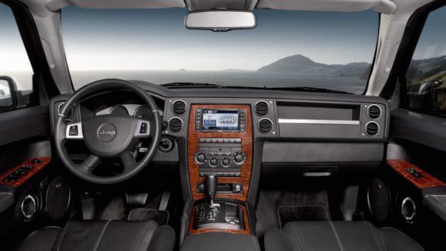 2010 Jeep Commander, Interior View, interior, manufacturer