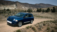 2010 Jeep Compass, Front Right Quarter View, exterior, manufacturer