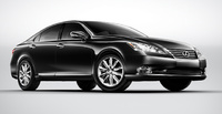 2010 Lexus ES 350, Front Right Quarter View, manufacturer, exterior