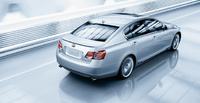 2010 Lexus GS 450h, Overhead View, exterior, manufacturer