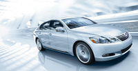 2010 Lexus GS 450h, Front Right Quarter View, manufacturer, exterior