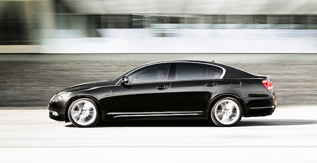 2010 Lexus GS 450h, Left Side View, manufacturer, exterior