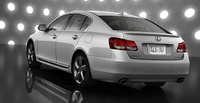 2010 Lexus GS 460, Back Left Quarter View, manufacturer, exterior