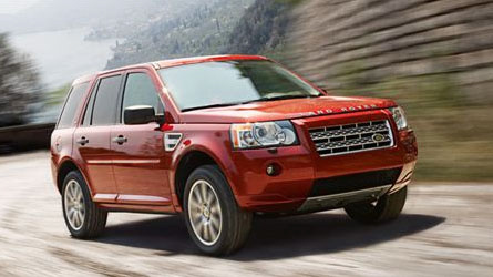 2010 Land Rover LR2, Front Right Quarter View, exterior, manufacturer