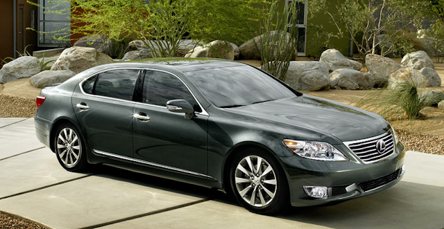 2010 Lexus LS 460, Front Right Quarter View, exterior, manufacturer