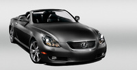 2010 Lexus SC 430, Front Right Quarter View, exterior, manufacturer