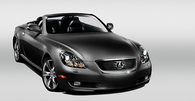 2010 Lexus SC 430, Front Right Quarter View, manufacturer, exterior