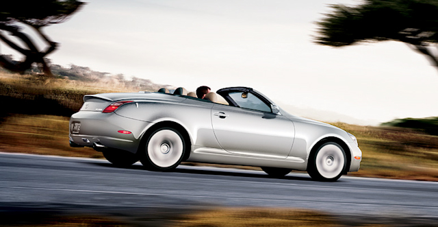 2010 Lexus SC 430, Right Side View, manufacturer, exterior