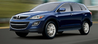 2010 Mazda CX-9, Front Left Quarter View, manufacturer, exterior