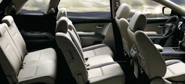 2010 Mazda CX-9, Interior View, interior, manufacturer