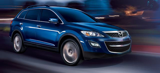 2010 Mazda CX-9, Front Right Quarter View, manufacturer, exterior