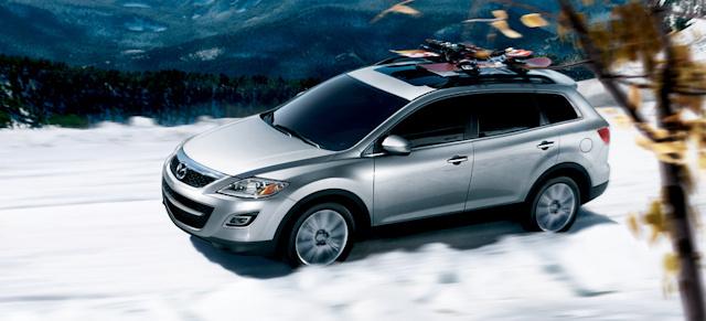 2010 Mazda CX-9, Overhead View, exterior, manufacturer