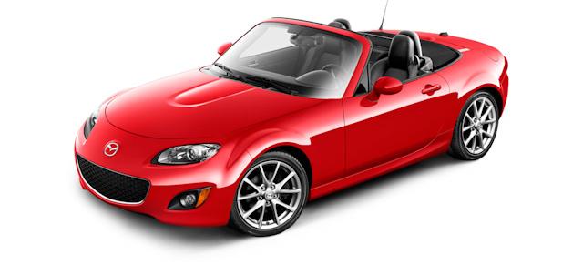 2010 Mazda MX-5 Miata, Front Left Quarter View, exterior, manufacturer