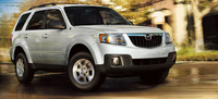2010 Mazda Tribute, Front Right Quarter View, exterior, manufacturer