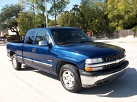 2000 Chevrolet Silverado 1500 LS Ext Cab Short Bed 2WD picture, exterior