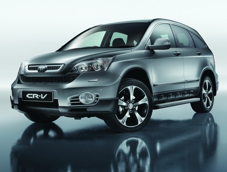 2010 Honda CR-V LX 4WD picture, exterior