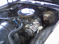 1970 Chevrolet Monte Carlo picture, engine