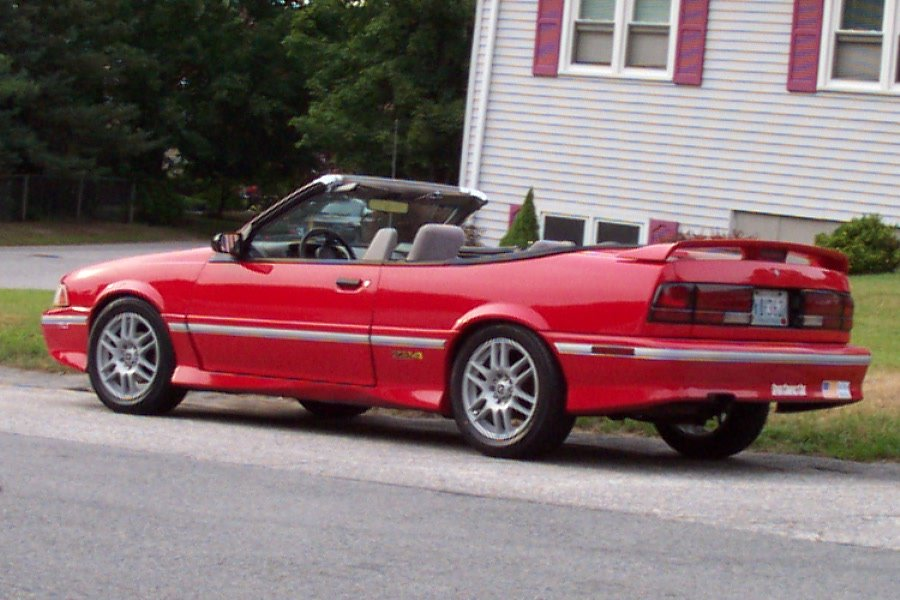 Picture Of 1992 Chevrolet Cavalier Z24 Convertible Exterior